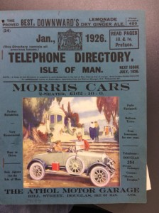 1926 IOM phone book